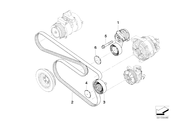 Tensioner Pulley Diagram For BMW Free Wiring You